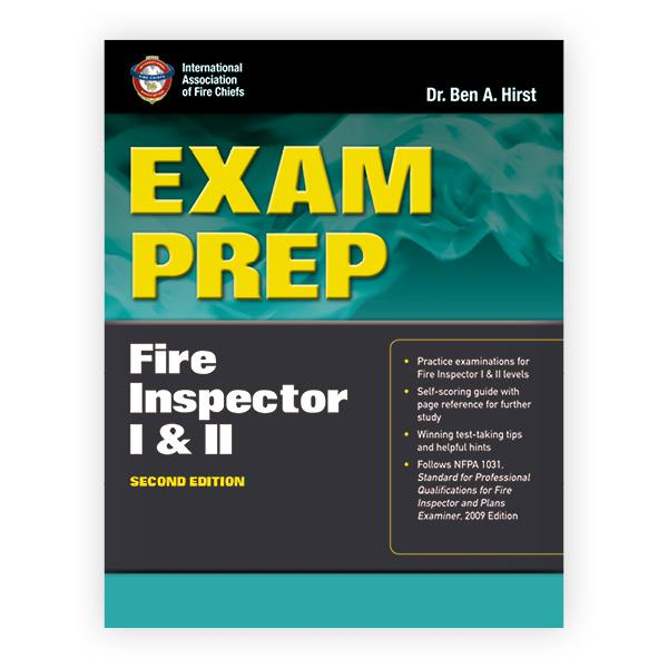 exam prep fire inspector i ii rh psglearning com Instructor Manual Assistant Instructor Guide and Template